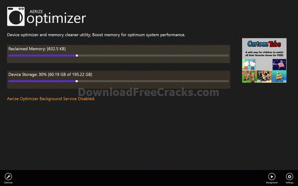Aerize Optimizer for Windows 10/8.1