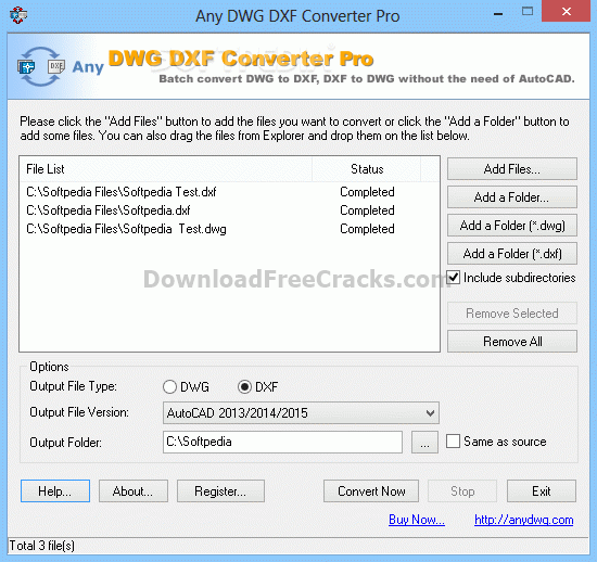 Any DWG DXF Converter Pro