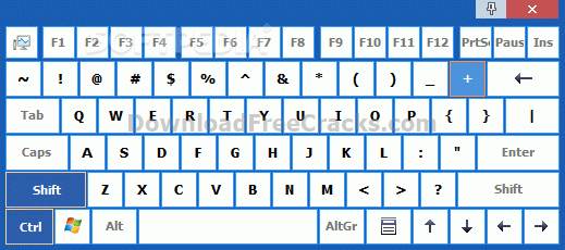 Comfort On-Screen Keyboard Lite