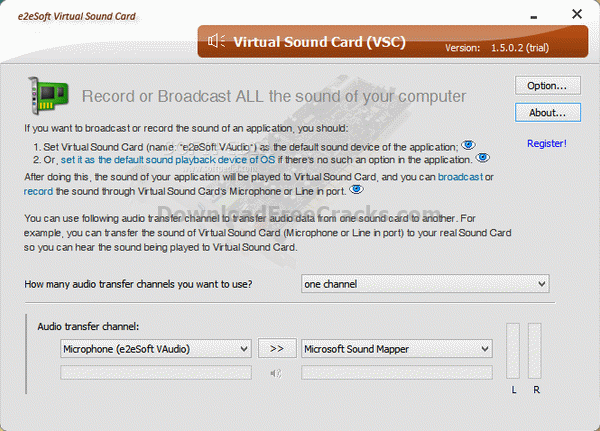 Virtual Sound Card (VSC)