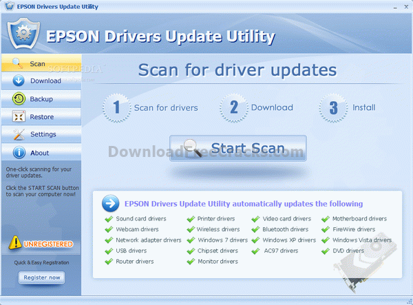 EPSON Drivers Update Utility