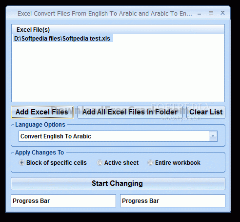 Excel Convert Files From English To Arabic and Arabic To English Software