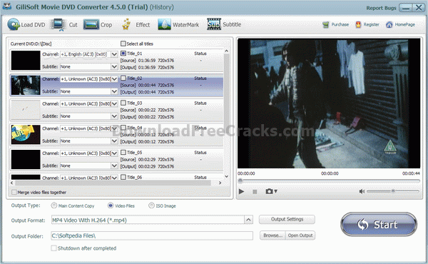 Gilisoft Movie DVD Converter