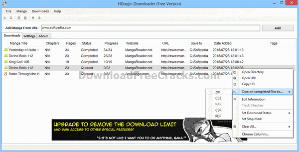 HDoujin Downloader + Crack Keygen Serial key Download