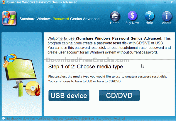 iSunshare Windows Password Genius