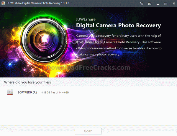 IUWEshare Digital Camera Photo Recovery