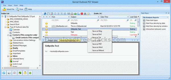 Kernel Outlook PST Viewer
