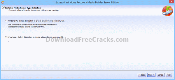 Lazesoft Windows Recovery Server