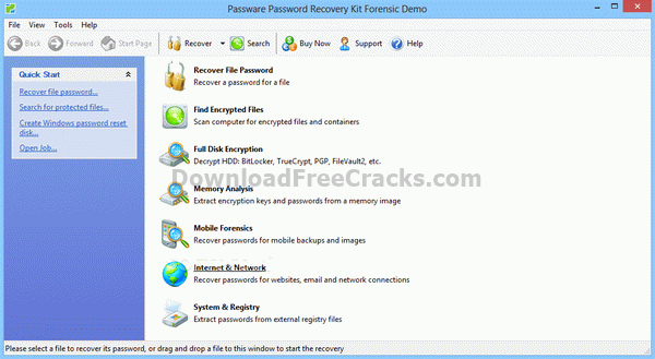 Passware Password Recovery Kit Forensic