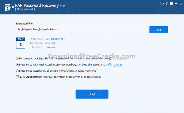 RAR Password Recovery Pro