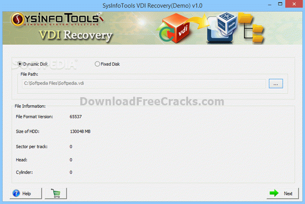 SysInfoTools VDI Recovery