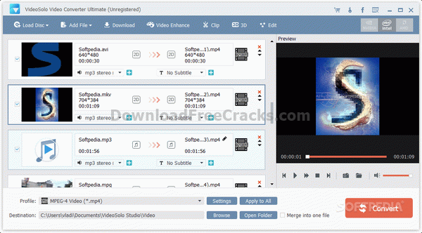 VideoSolo Video Converter Ultimate