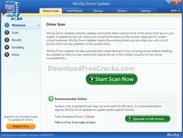 winzip driver updater key 5.25.3.6